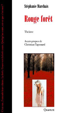 couverture rouge foret